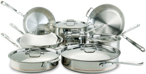 All-Clad-Copper-Dishwasher-Cookware-14-Piece