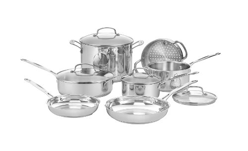 Cuisinart-77-11G-Stainless-11-Piece-Cookware