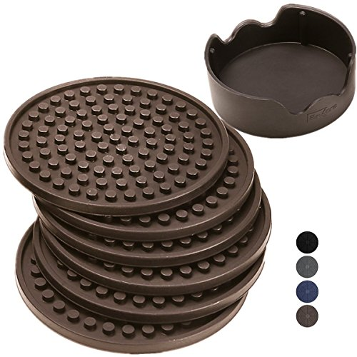 ENKORE-Coasters-Holder-Espresso-Brown