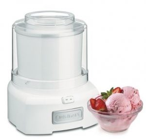 Ice cream maker recipe